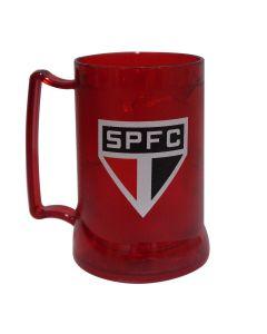 CANECA GEL PEÇA VERMELHA SPFC - São Paulo