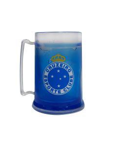 MINI CANECA GEL AZUL - Cruzeiro